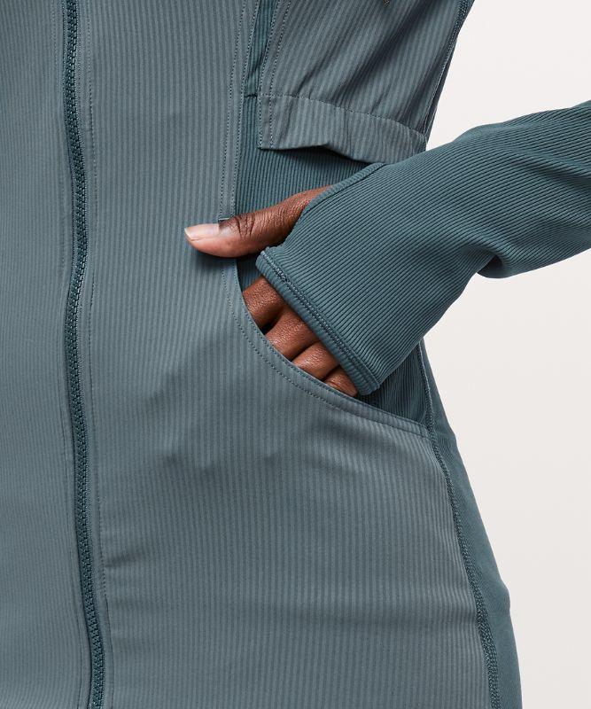 Dance Studio Jacket*リブ編みスリーブ
