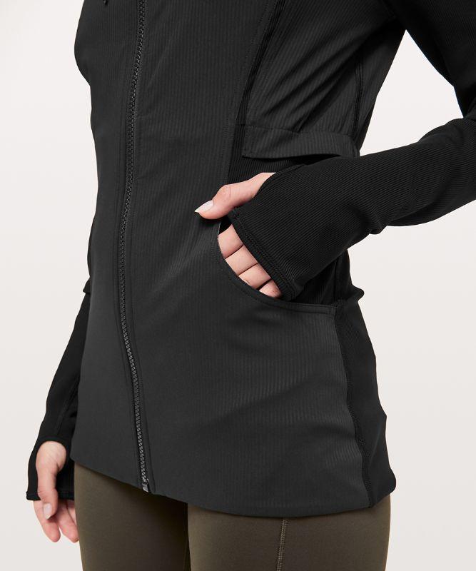 Dance Studio Jacket Rib Sleeve