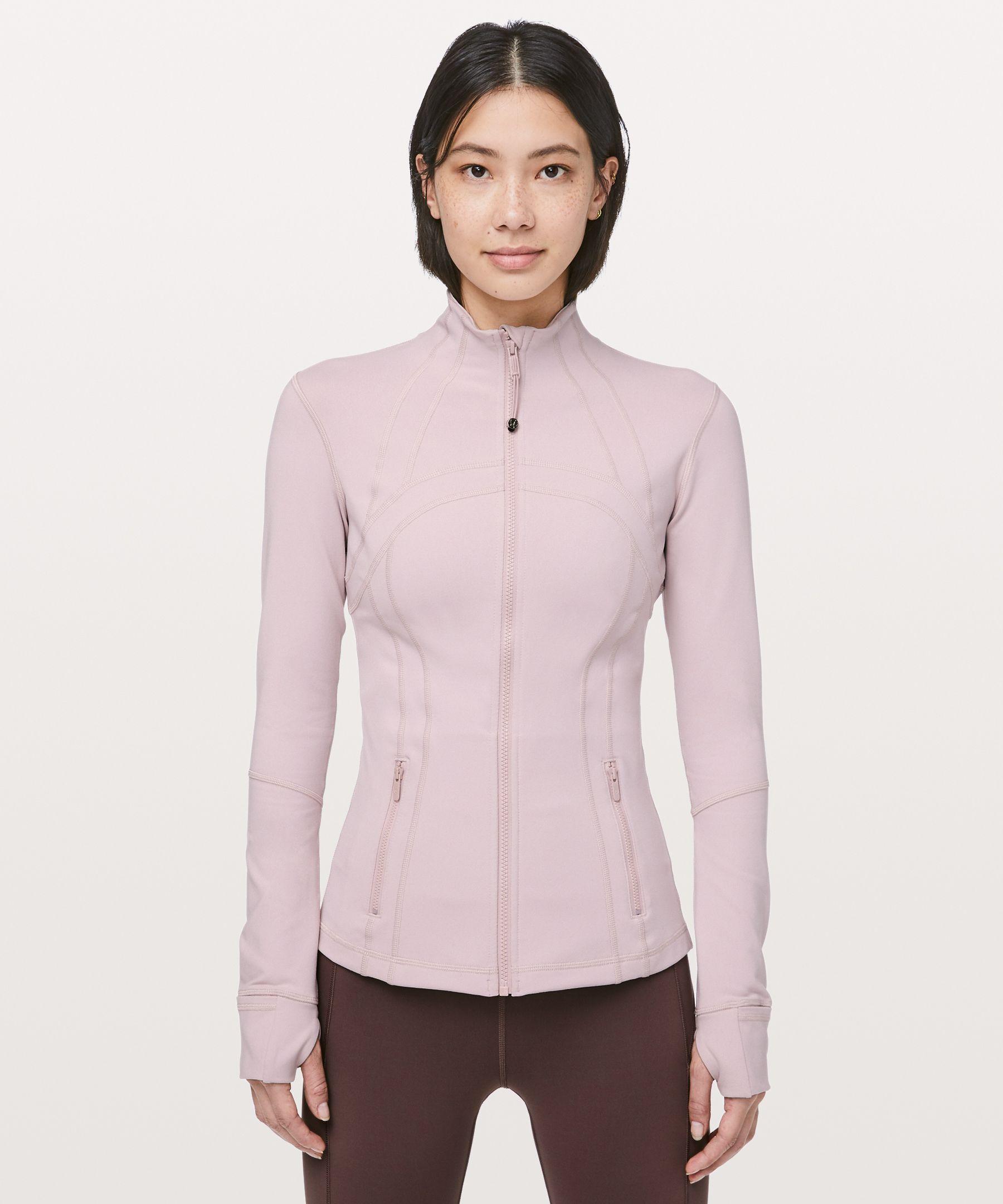 Lululemon Define Jacket In Porcelain Pink