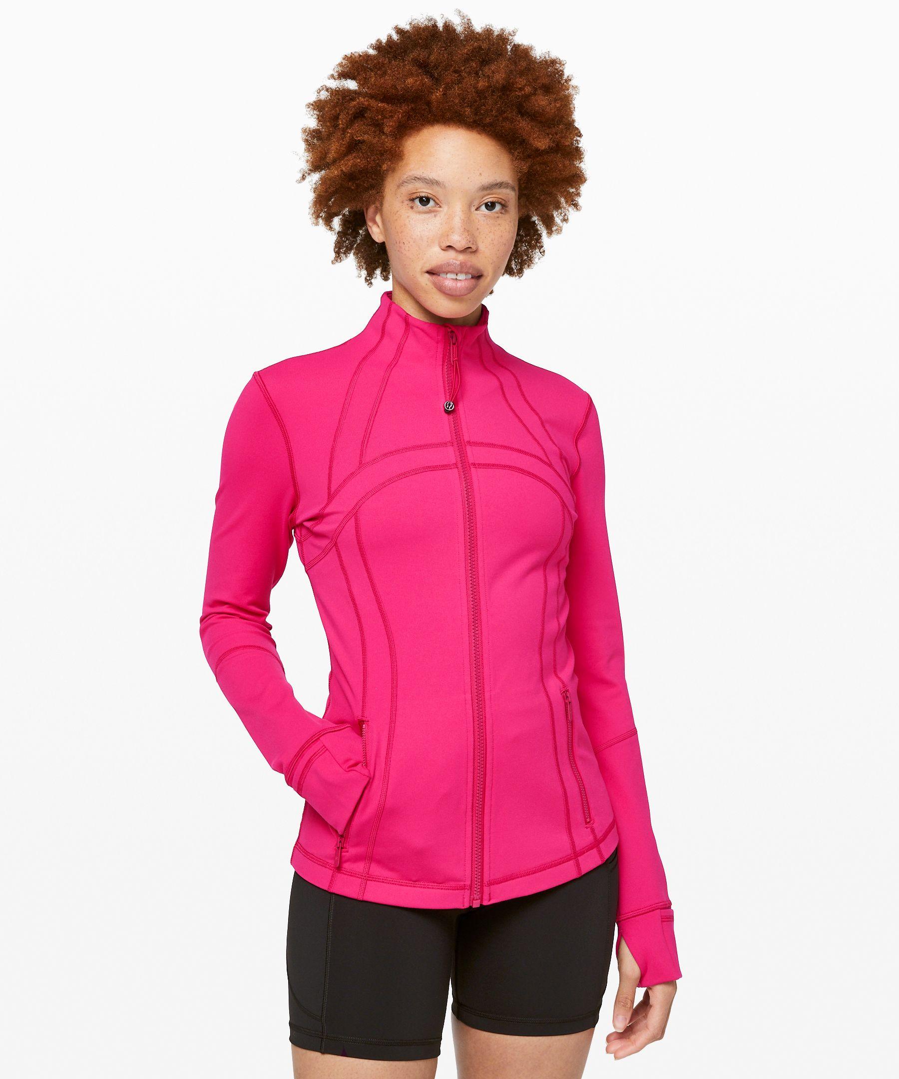 Lululemon Define Jacket In Calypso Pink