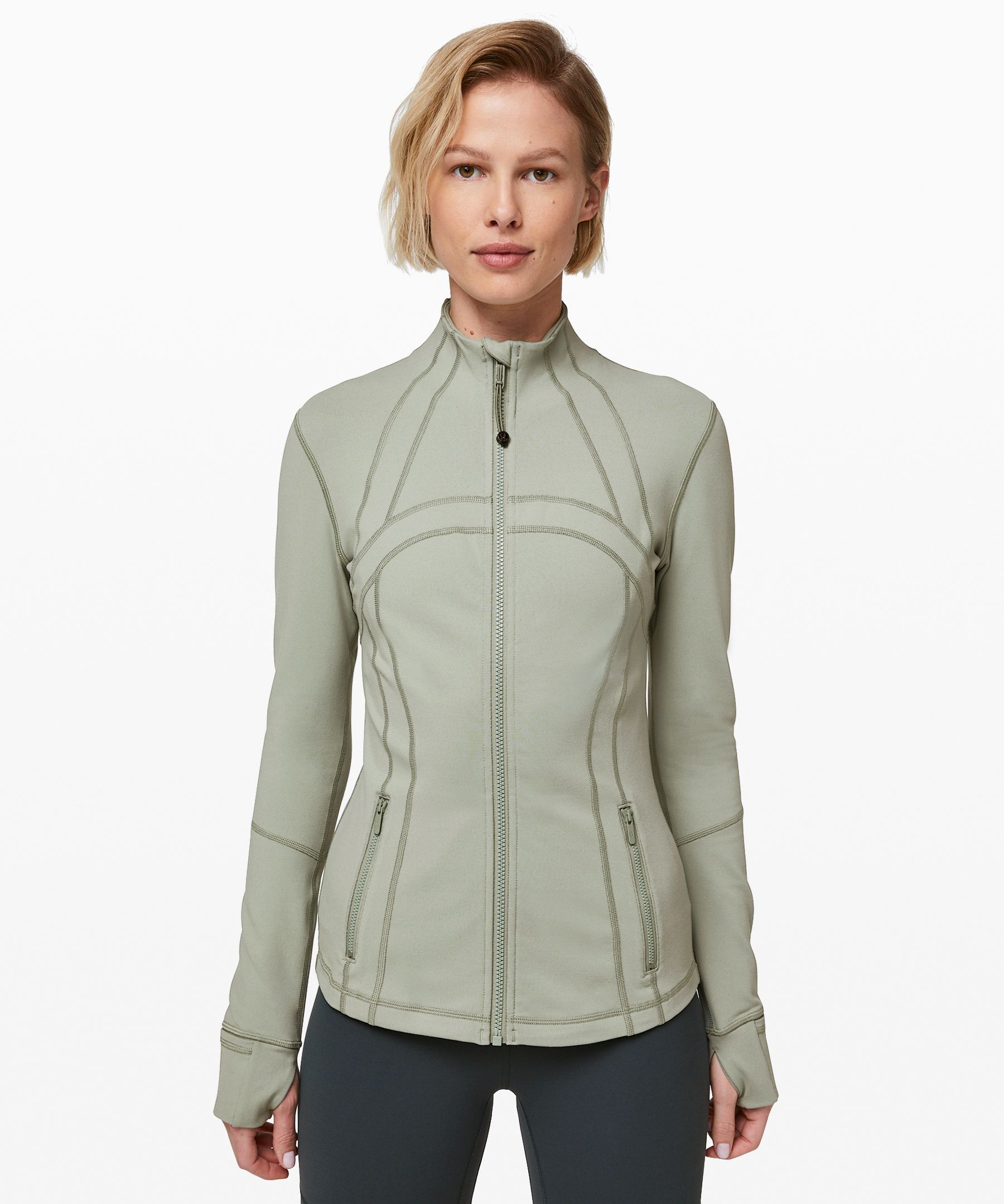 Lululemon Define Jacket In Sea Moss