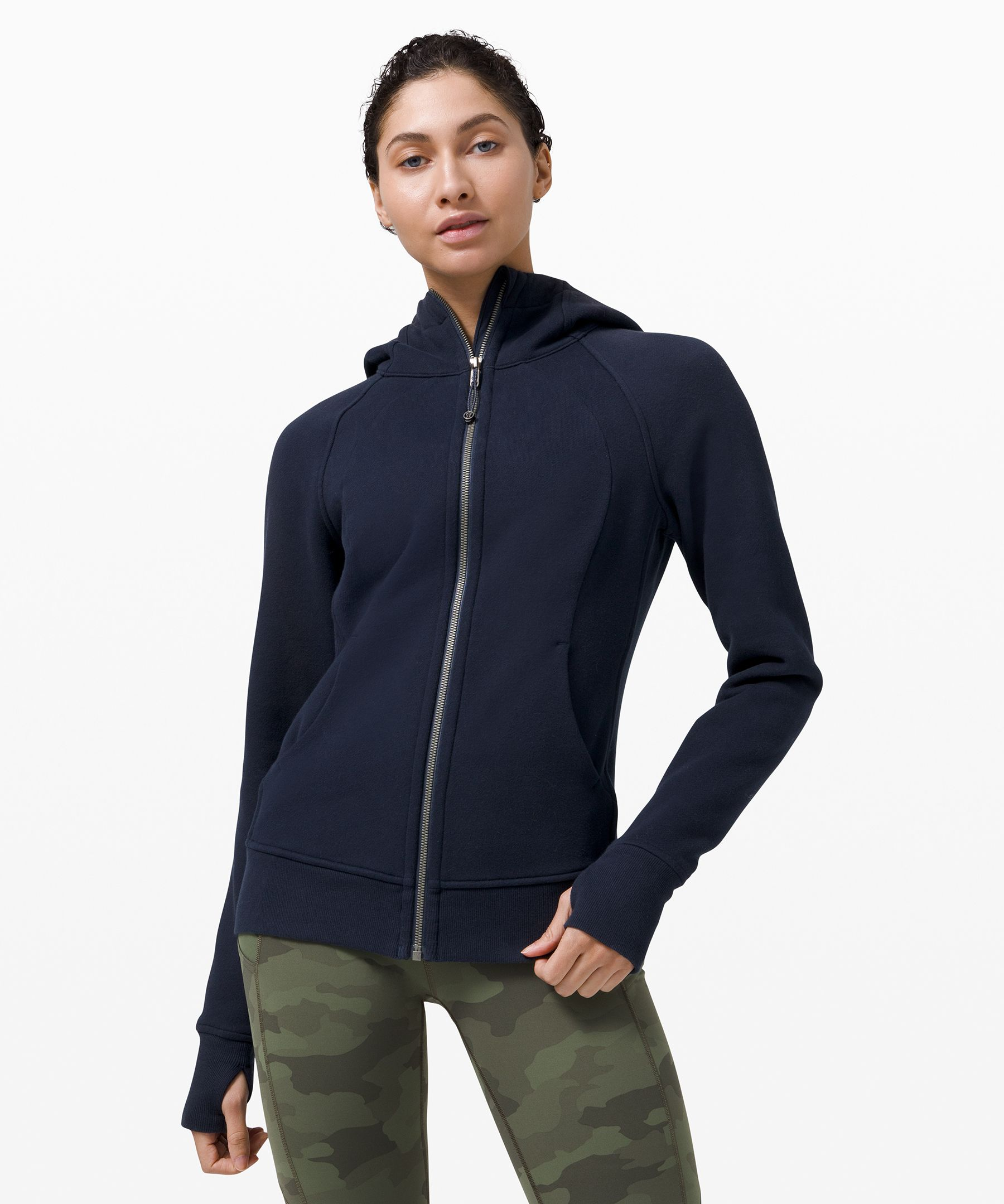 Breathable, warm, and cozy, our signature hoodie is the perfect pre- and post-workout layer.