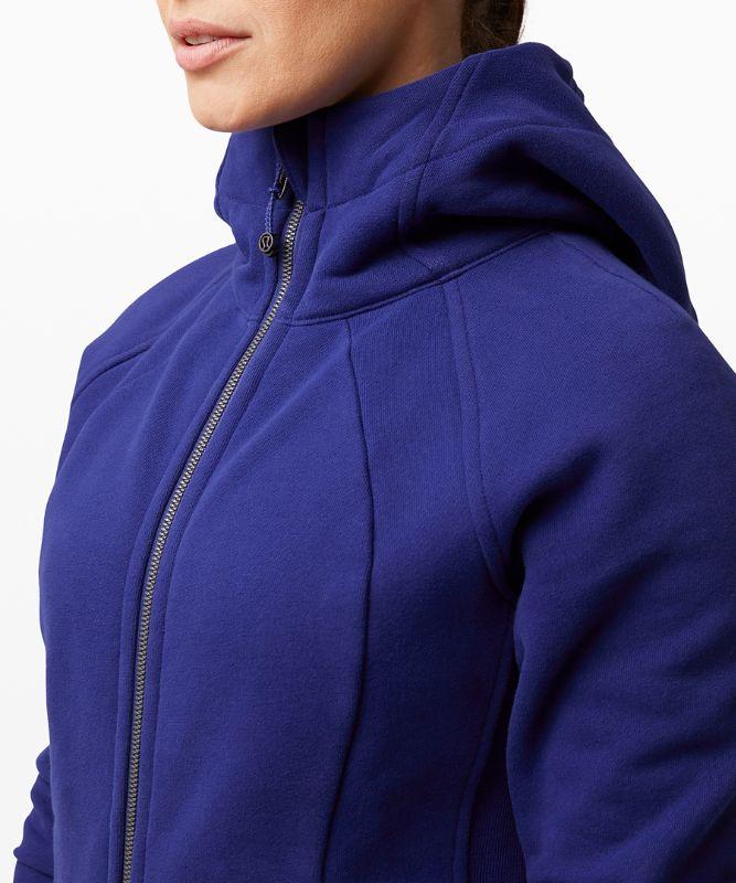 Sweat à capuche zippé Scuba
