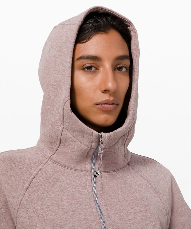 Sweat à capuche Scuba *Tissu Cotton Fleece léger