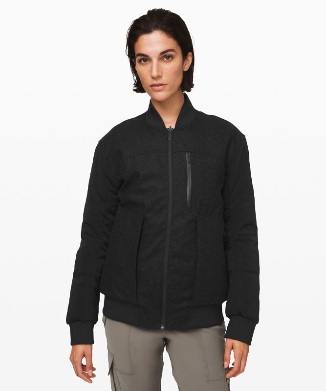 Roam Far Wool Bomber *Waterproof Wool