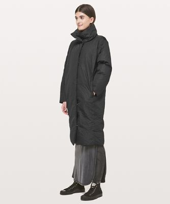 Long manteau bouffant Shiwa