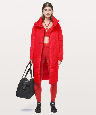 Lab Insulated Long Coat