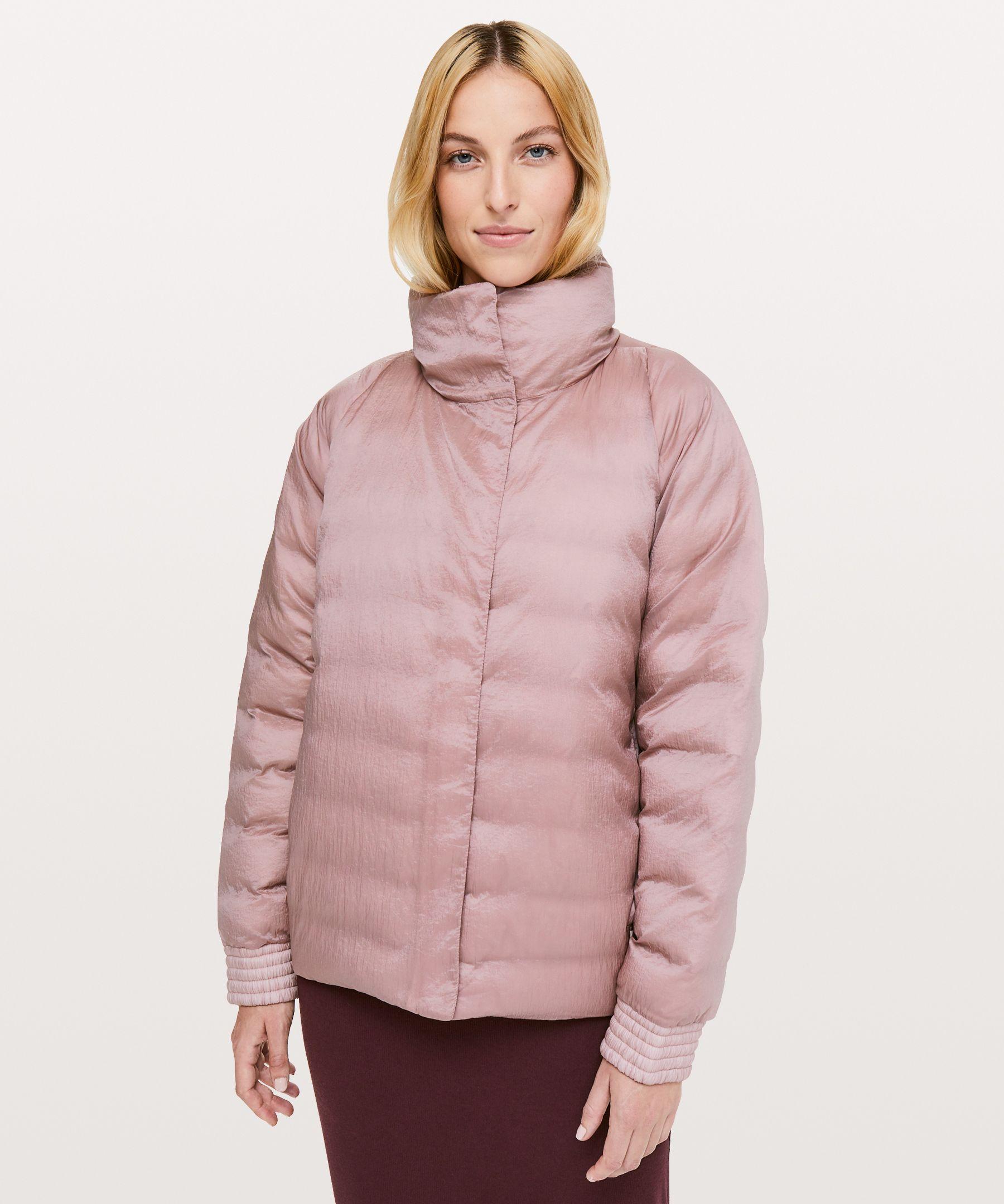 Lululemon Aurora Jacket * Lab In Mink Berry