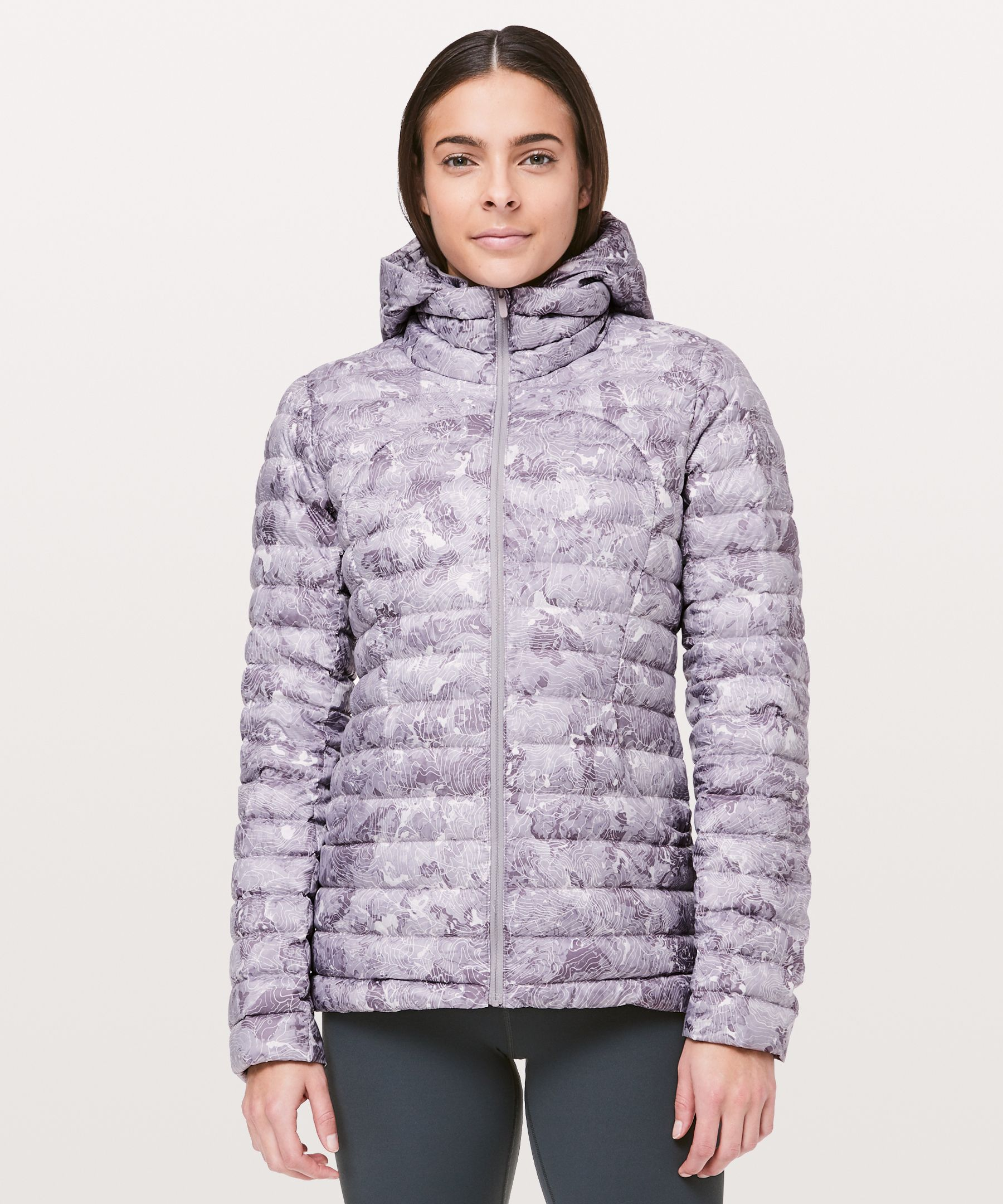 Lululemon Pack It Down Again Jacket In Elevation Pink Multi