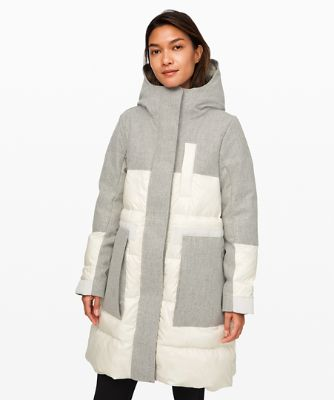 Winter Chill Wool Parka