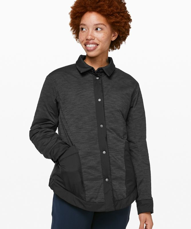 Manteau-chemise Switch Please