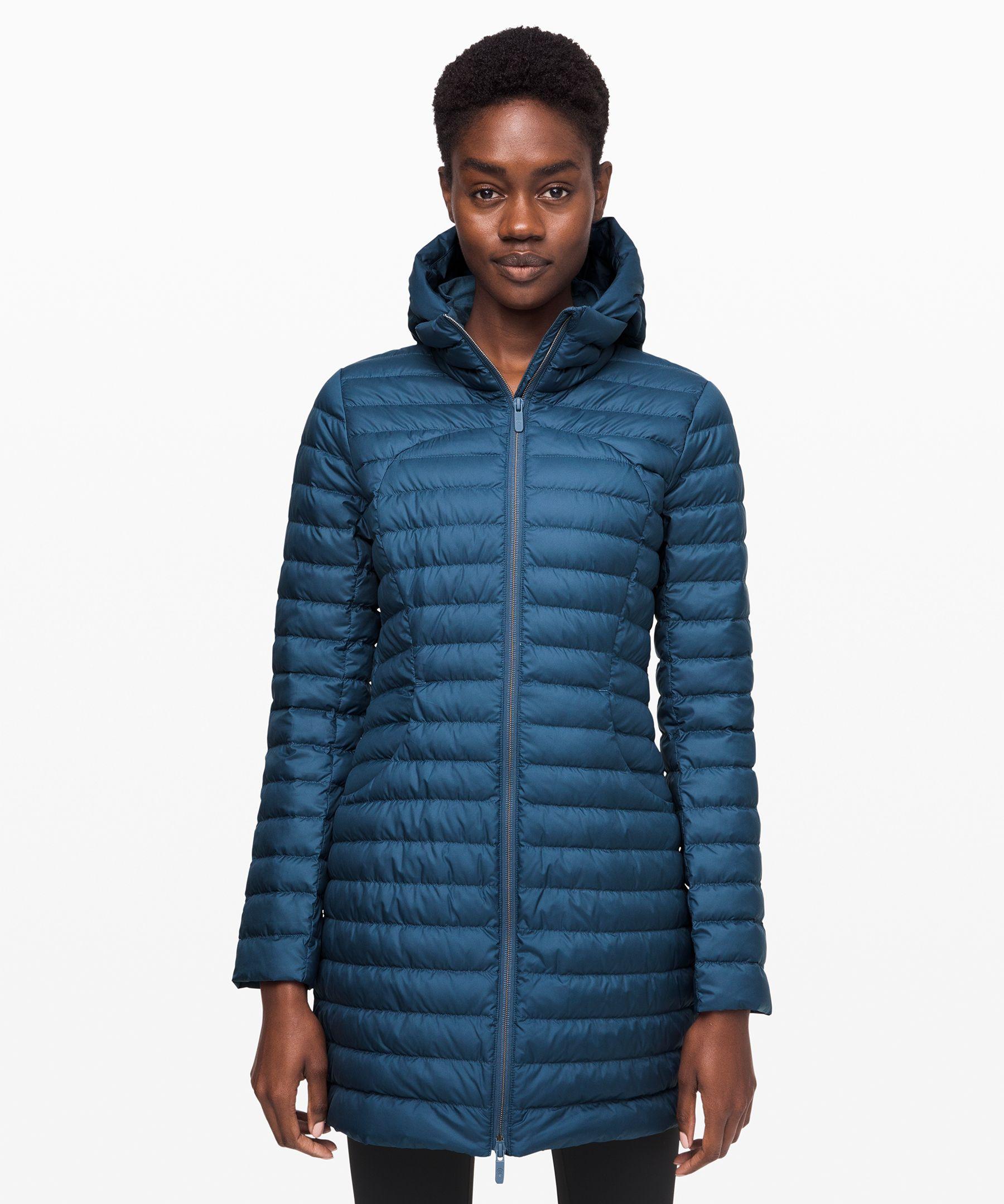 Lululemon Pack It Down Jacket *Long In Code Blue