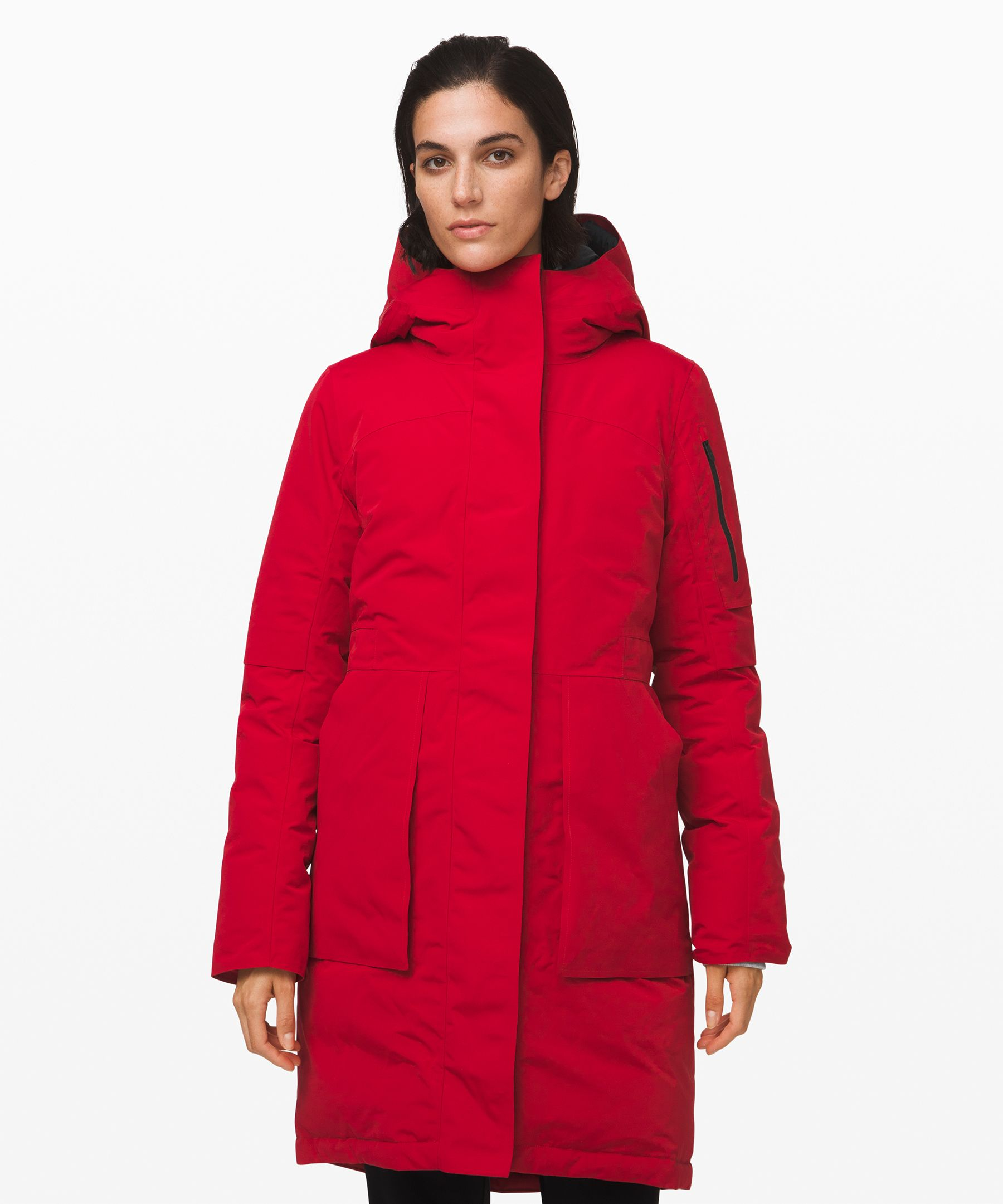 Red Winter Parka