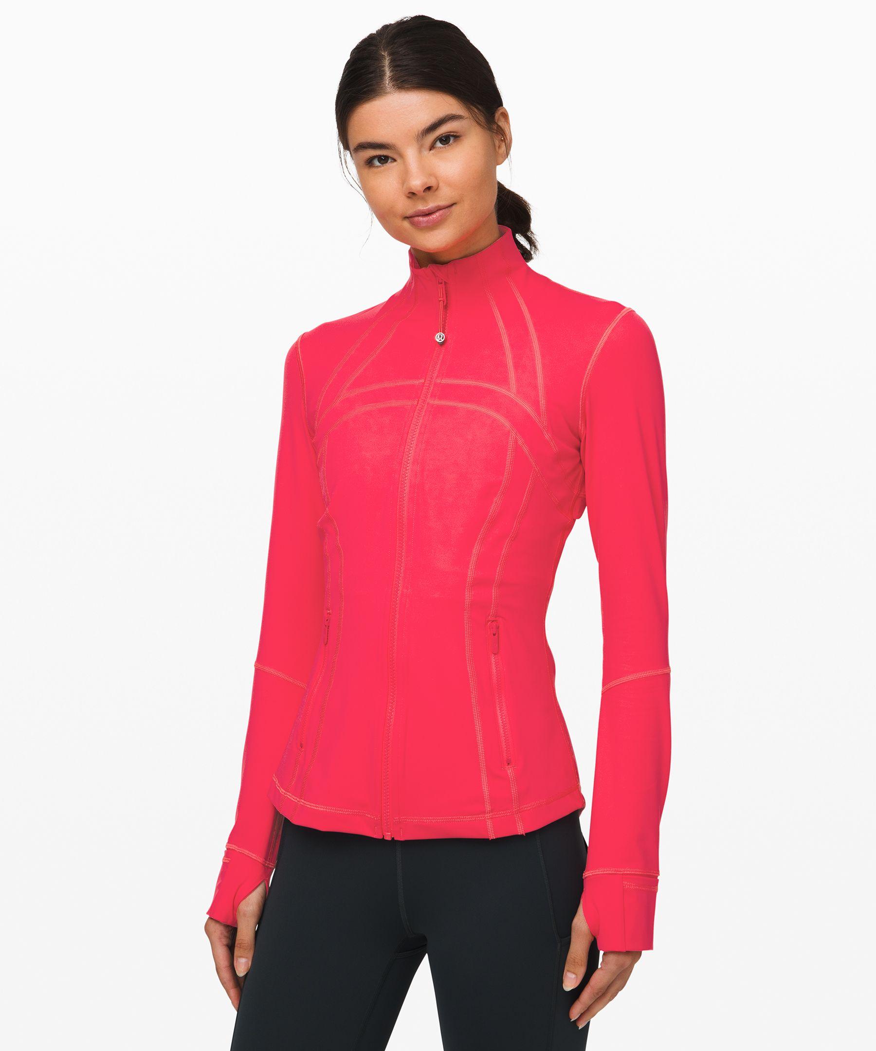 Lululemon Define Jacket *nulux In Heartthrob