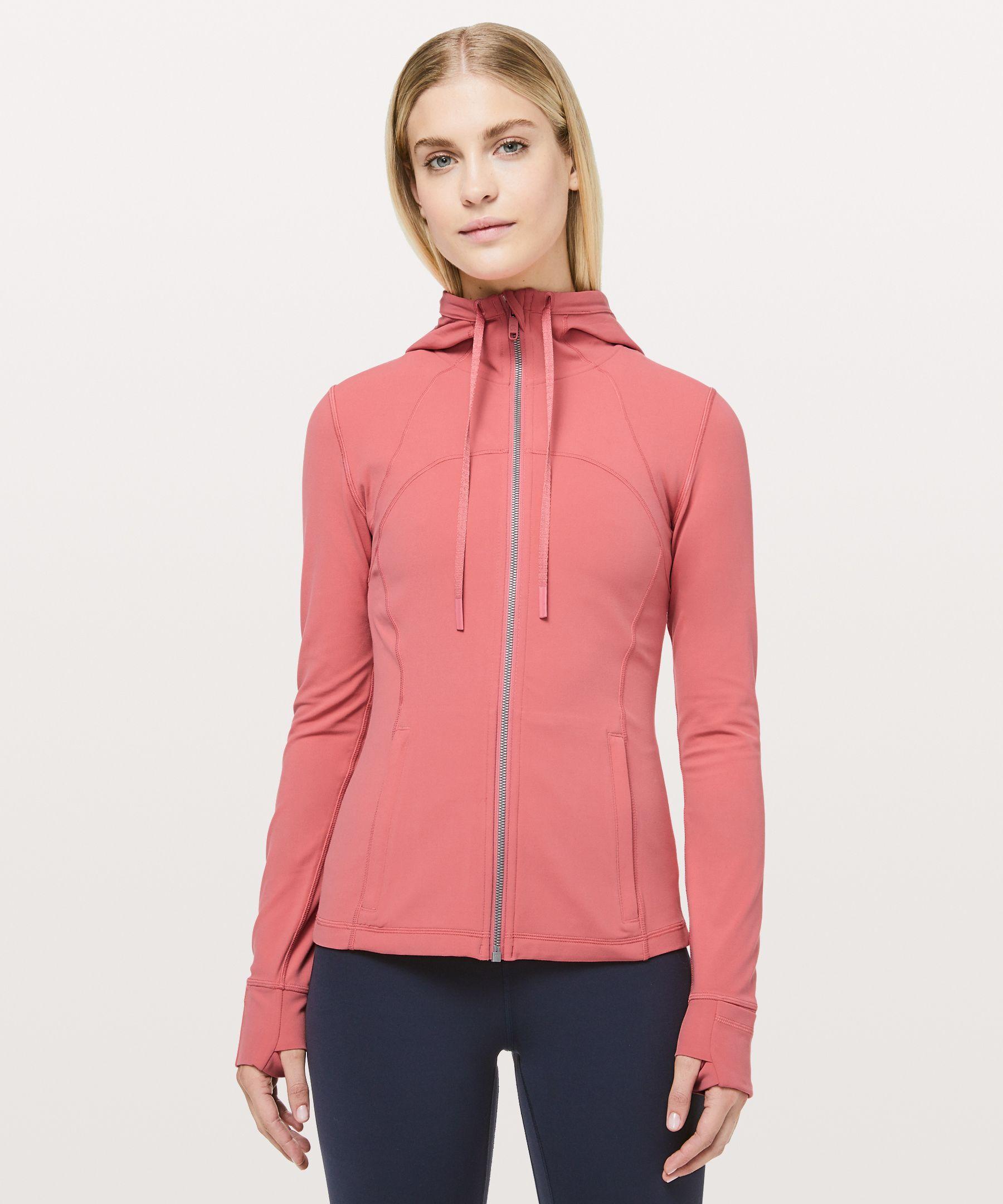 Lululemon Hooded Define Jacket *nulu In Blush Coral