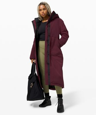 Winter Warrior Long Parka