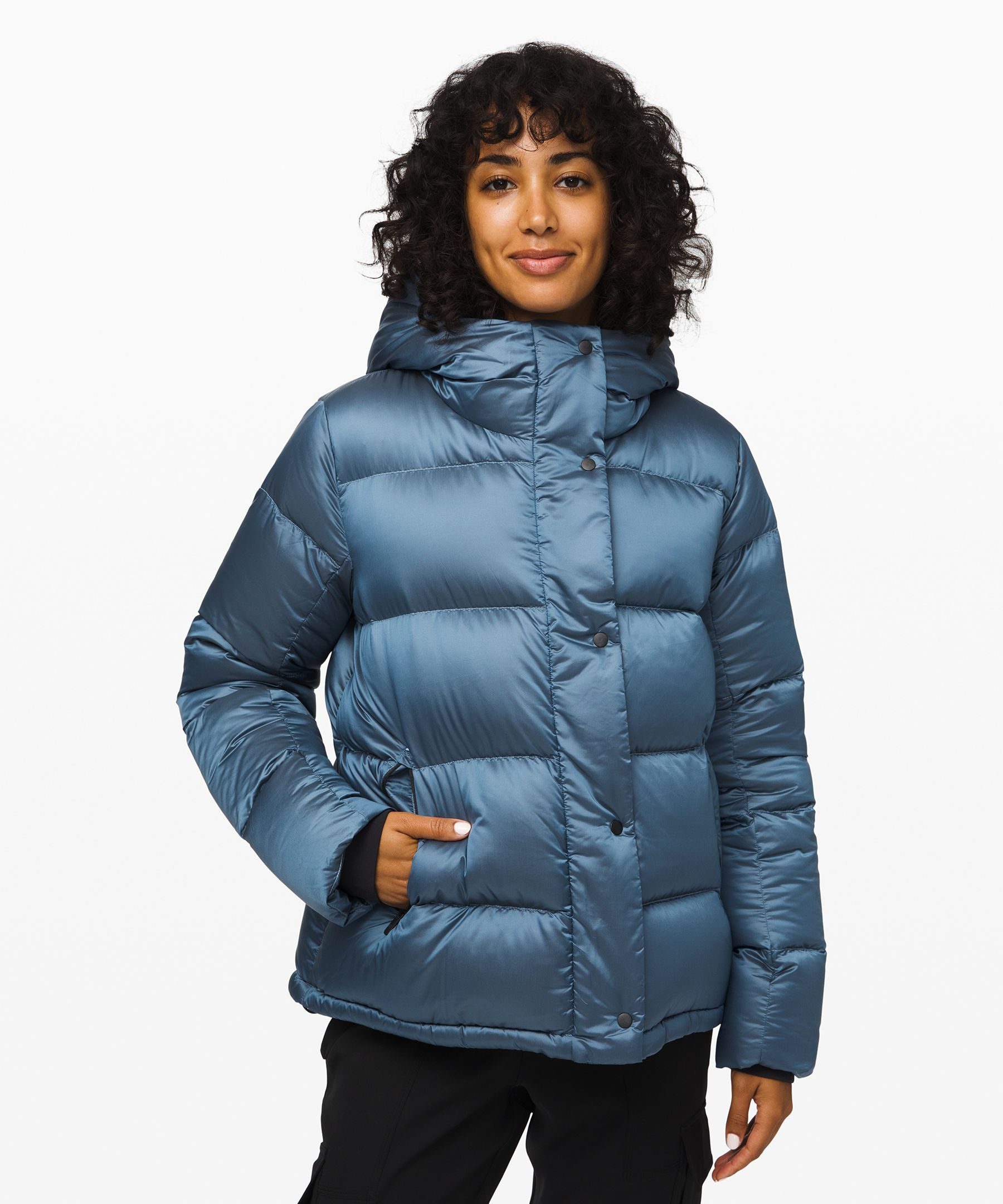 Lululemon Wunder Puff Jacket In Cascade Blue