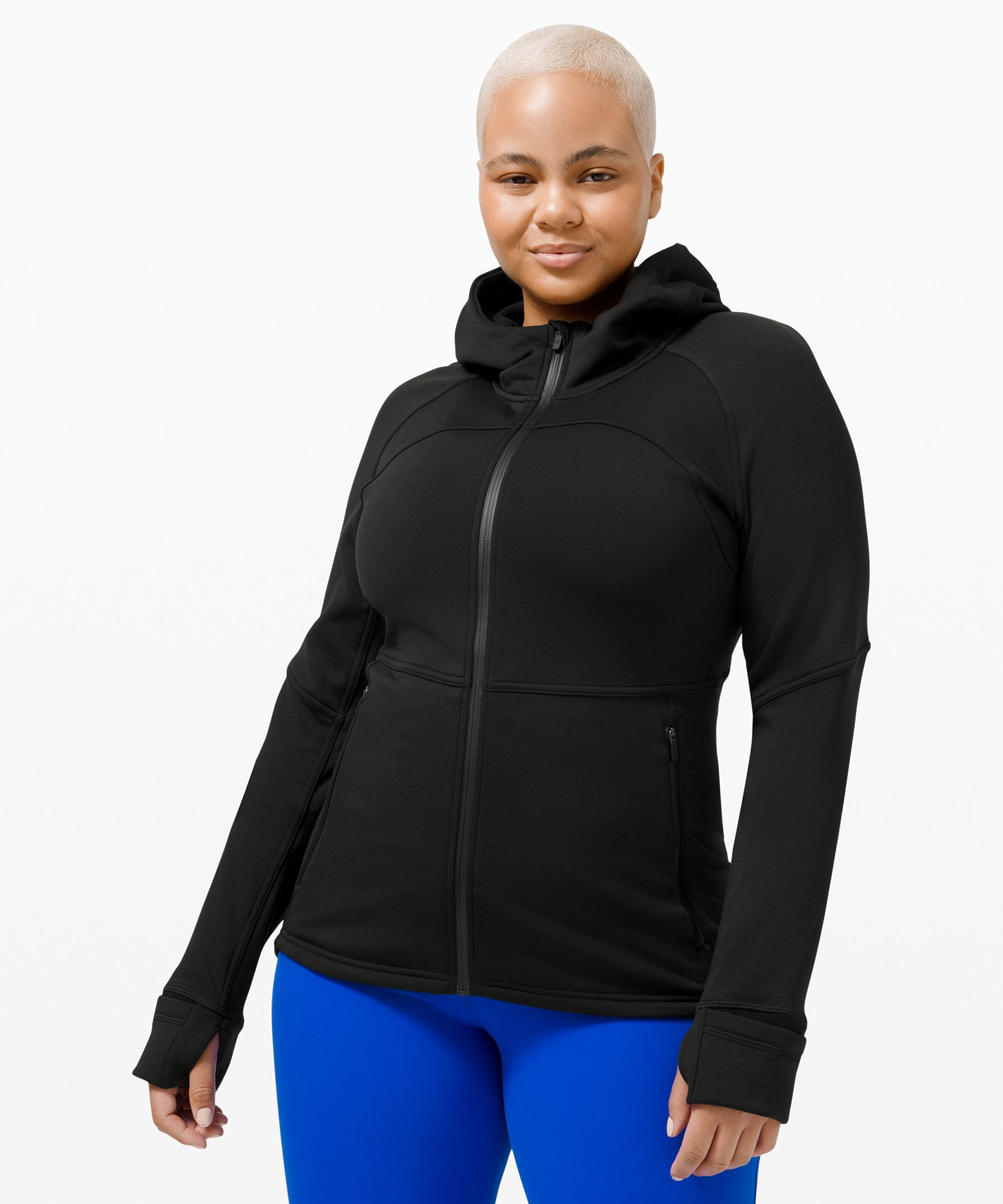 Lululemon Fleece Flurry Jacket In Black