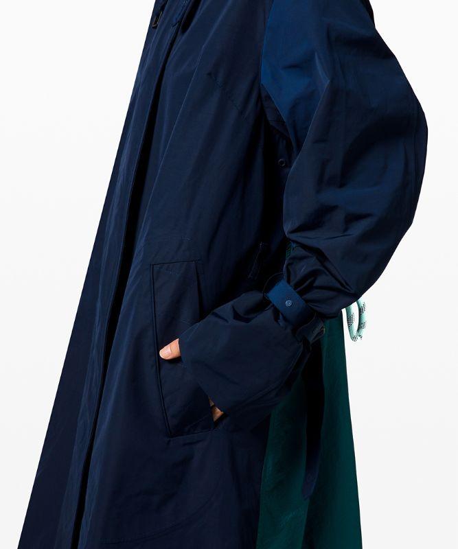 Face Forward Trench Coat