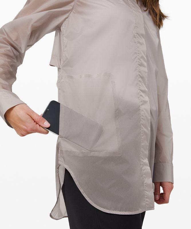 Hazy Sky Shirt Jacket