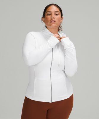 후드 디파인 재킷 *Nulu, WHITE