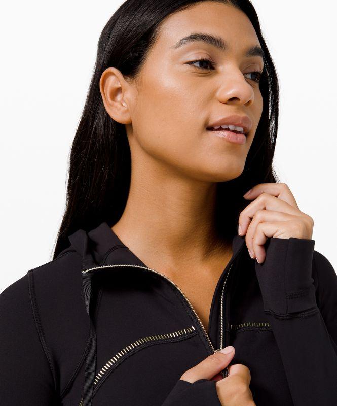 Hooded Define Jacket *Gold