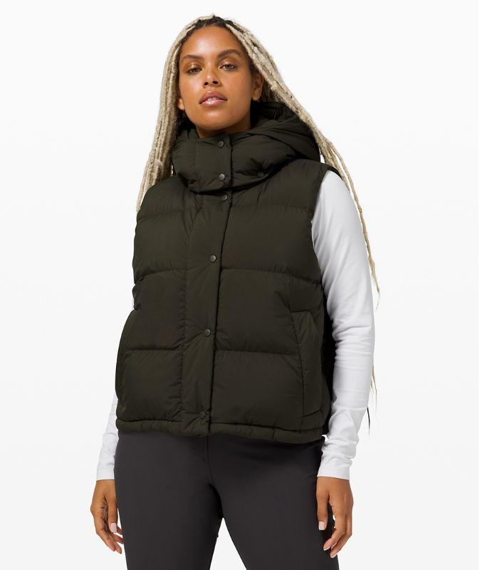 Wunder Puff Crop Vest