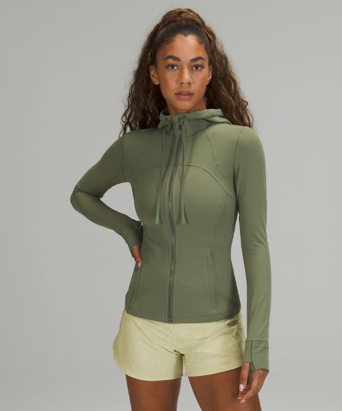 후드 디파인 재킷 *Nulu