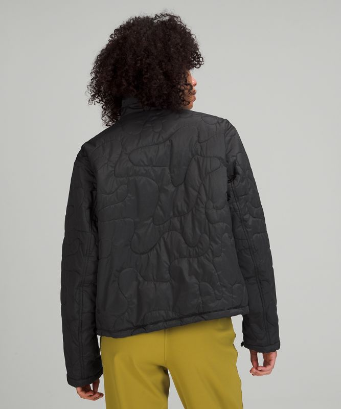 Insulated Quilted Pullover Jkt