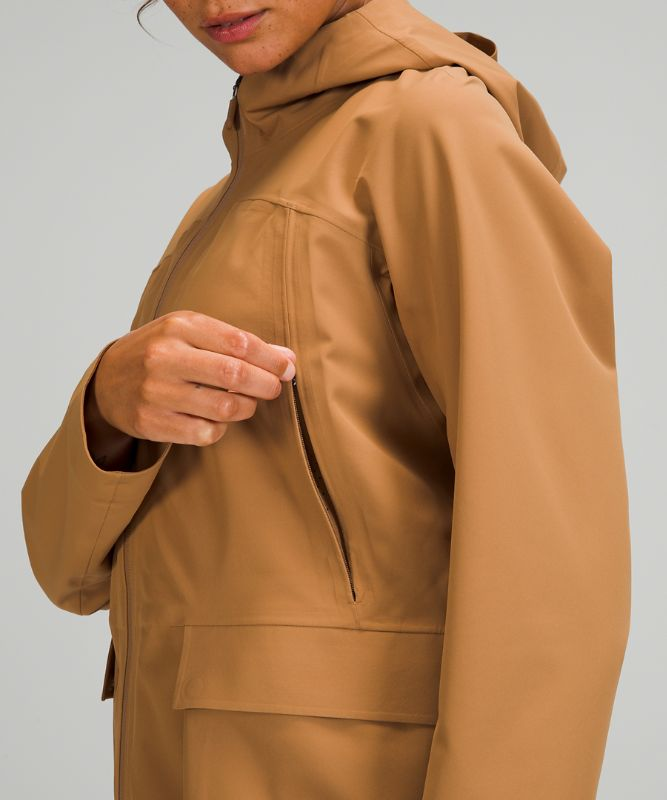 StretchSeal™ Relaxed Rain Jacket