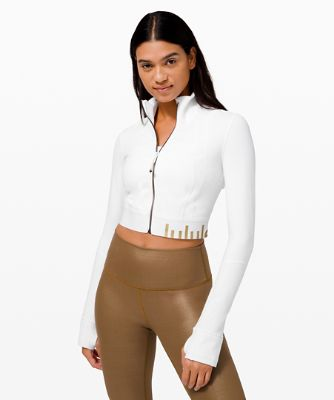 Define Jacket Cropped *Gold