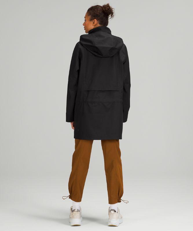 StretchSeal™ 릴랙스드 롱 레인 재킷