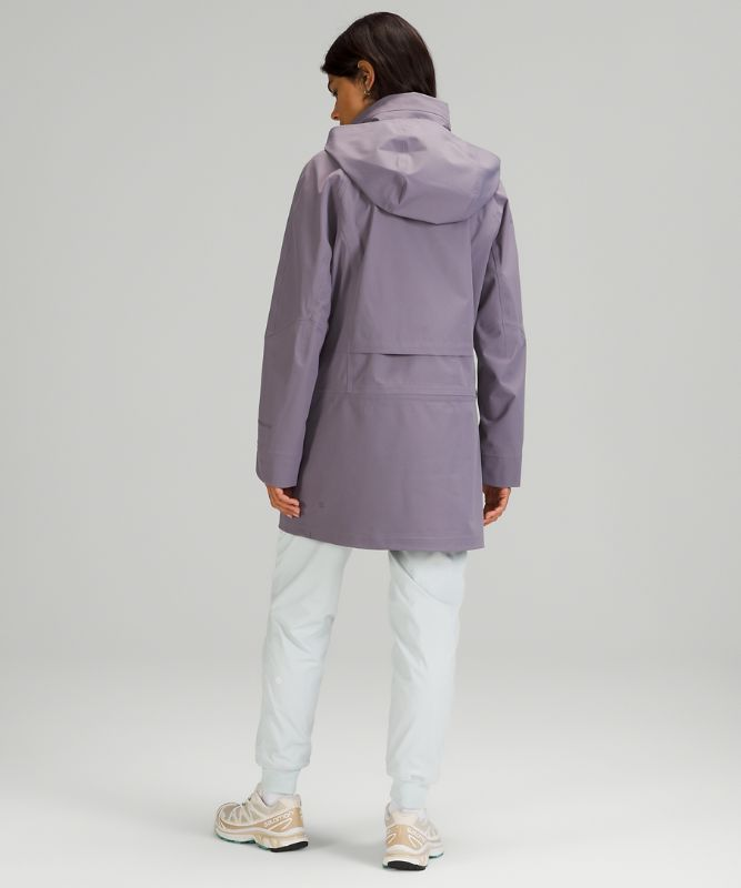 StretchSeal™ Relaxed-Fit Long Rain Jacket