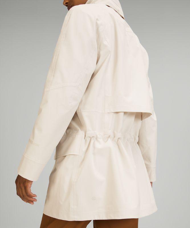 Manteau de pluie long décontracté StretchSeal™