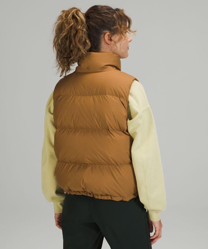 Wunder Puff Cropped Vest