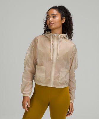 Lightweight Ruched Jacket