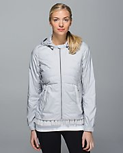 Spring Fling Puffy Windbreaker