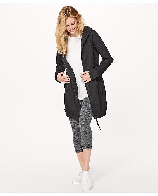 Sale alerts for Lululemon Definitely Raining Jacket - Covvet