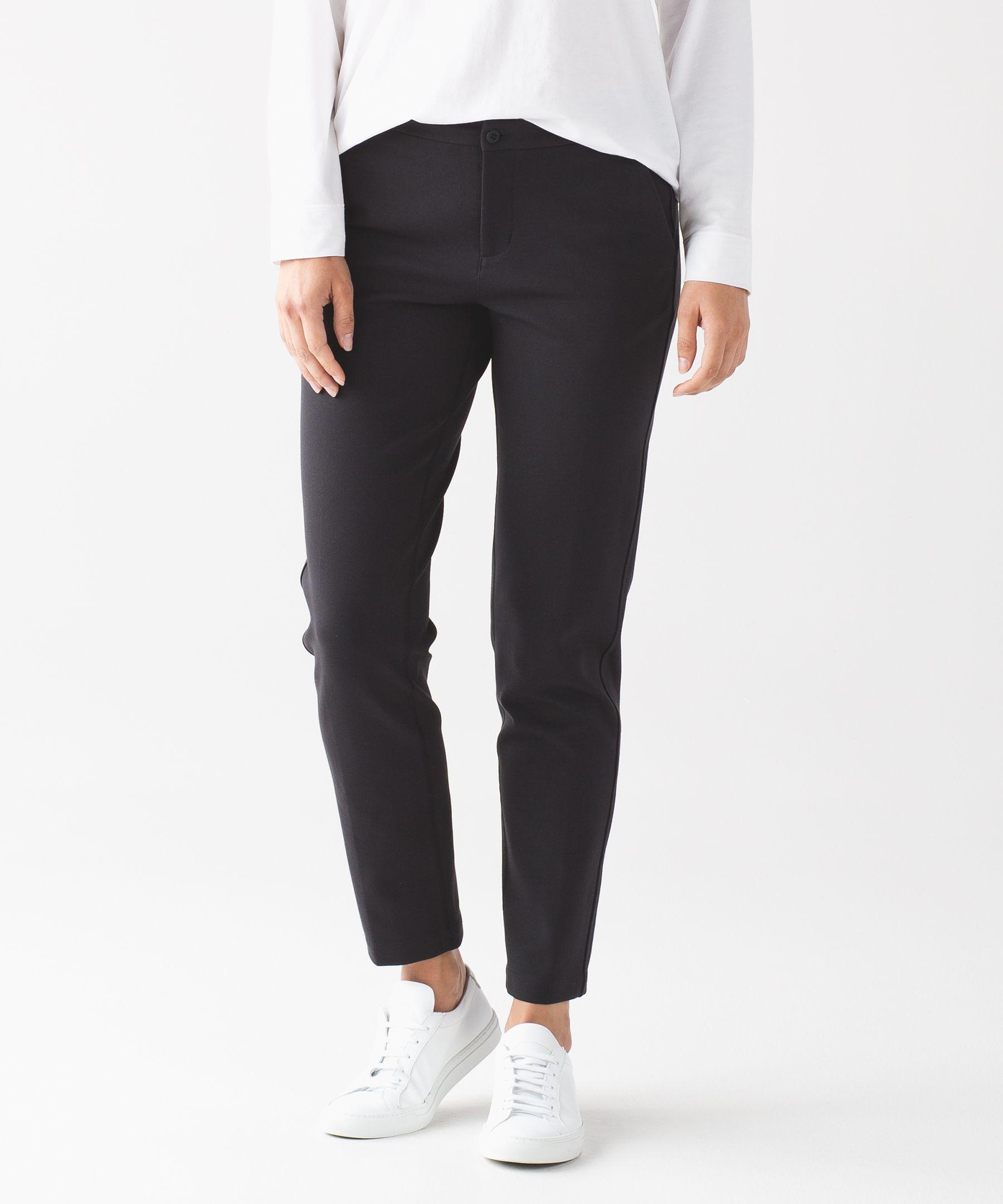 City Trek Trouser Ponte Women S Pants Lululemon Athletica