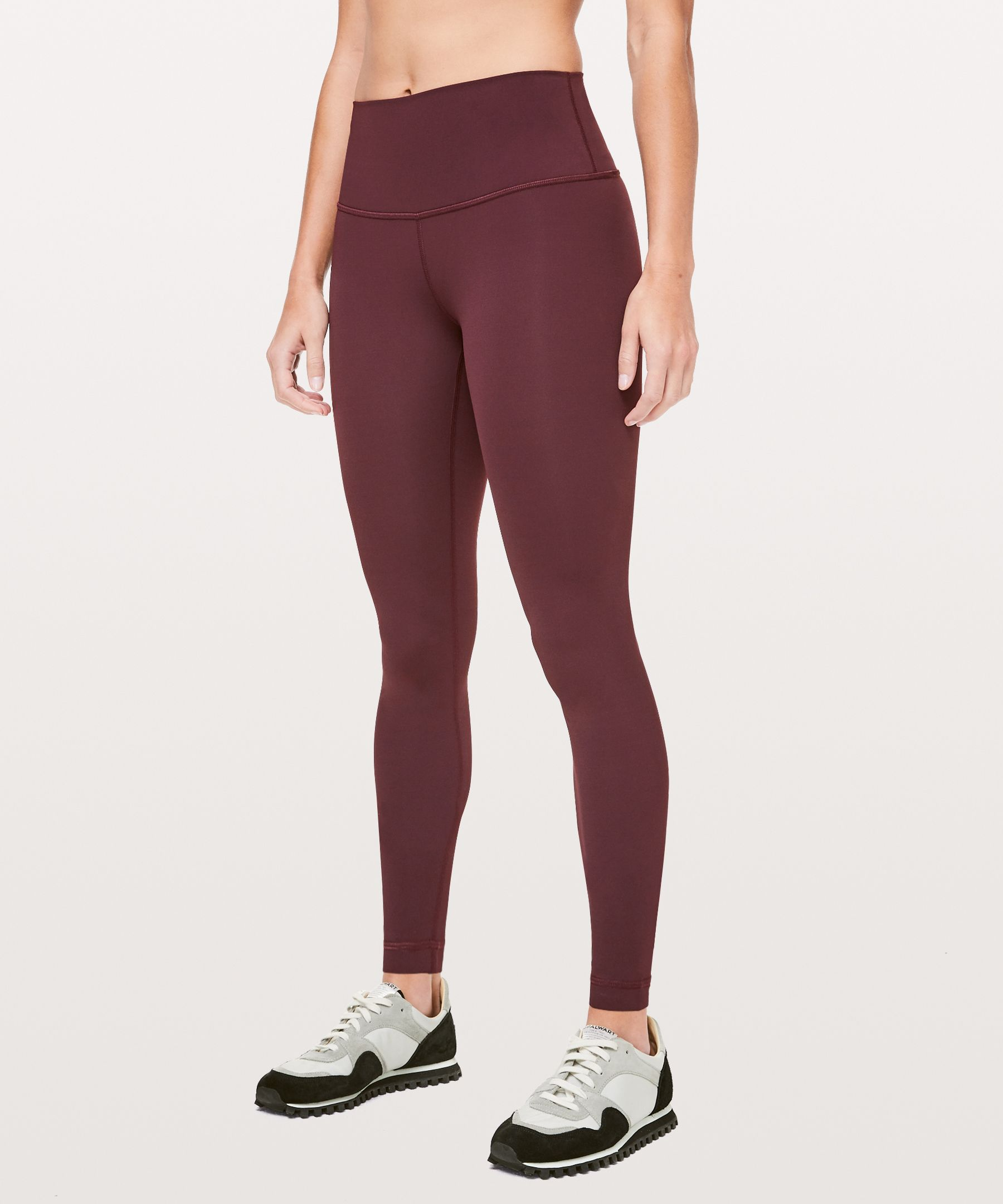 "Wunder Under High Rise Tight 28"" Brushed Luxtreme™ by Lululemon"