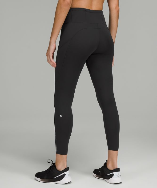 "Fast and Free High-Rise Tight 25"" *Reflective"