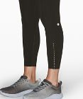 "Fast and Free High Rise Tight 25"" *Reflective Nulux"
