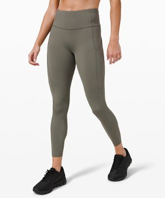 "Fast and Free High-Rise Tight 25"" *Reflective Nulux"