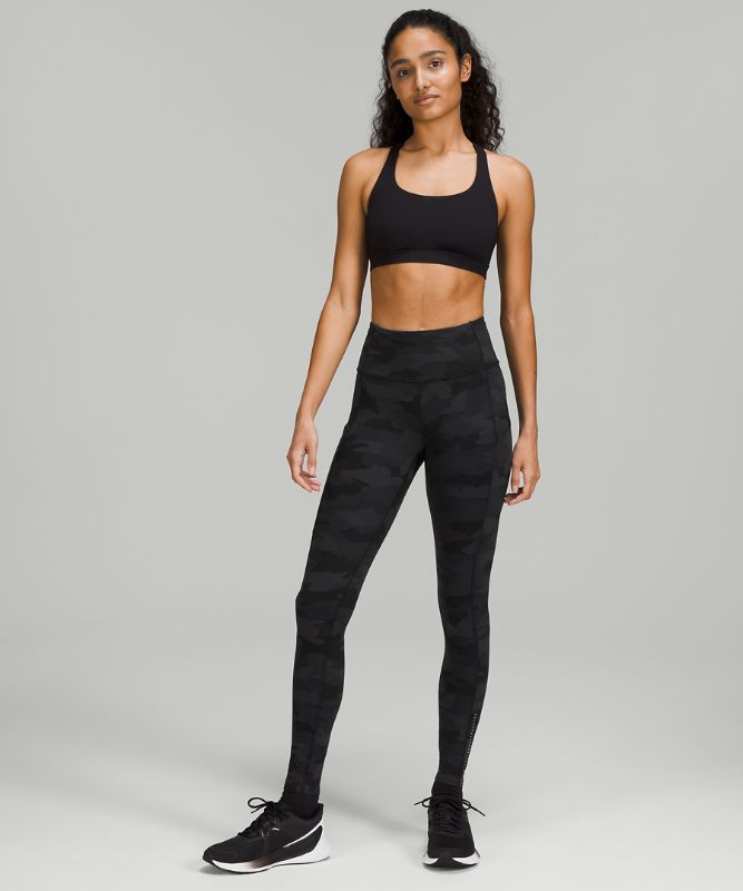 """Fast and Free High-Rise Tight 28"""" *Reflective"""