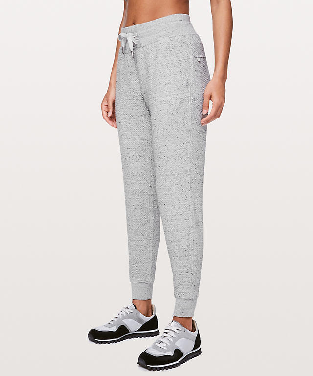 2c3f14d0d Heathered Melody Light Grey Warm Down Jogger II 28