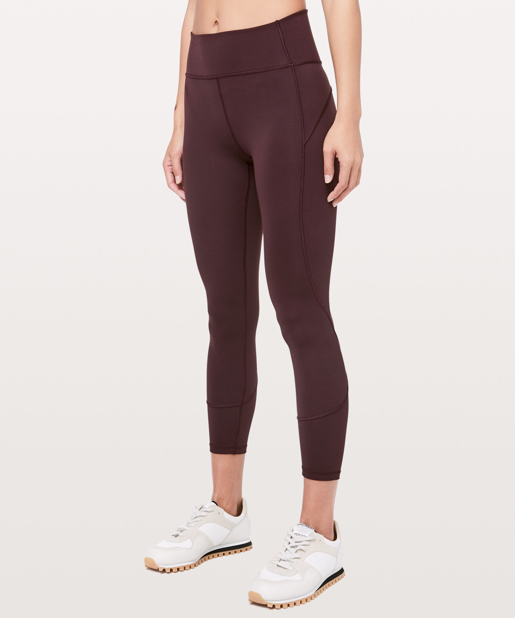 """Lululemon In Movement Tight 25"""" *Everlux In Plum Shadow"""