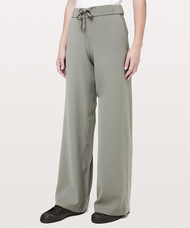 1e3c282c9 Grey Sage On the Fly Wide-Leg Pant Woven ...