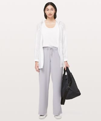 On the Fly Wide-Leg Pant FL *Woven