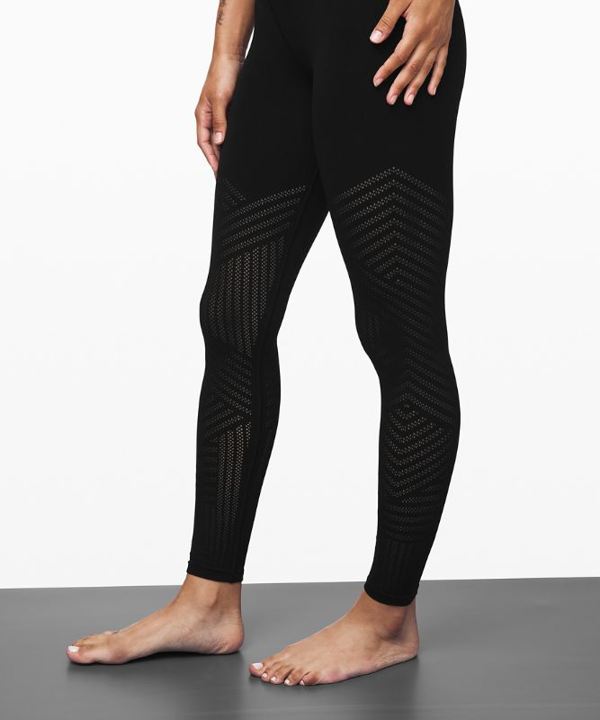 "Reveal Tight 28"" *Mesh Stripes"