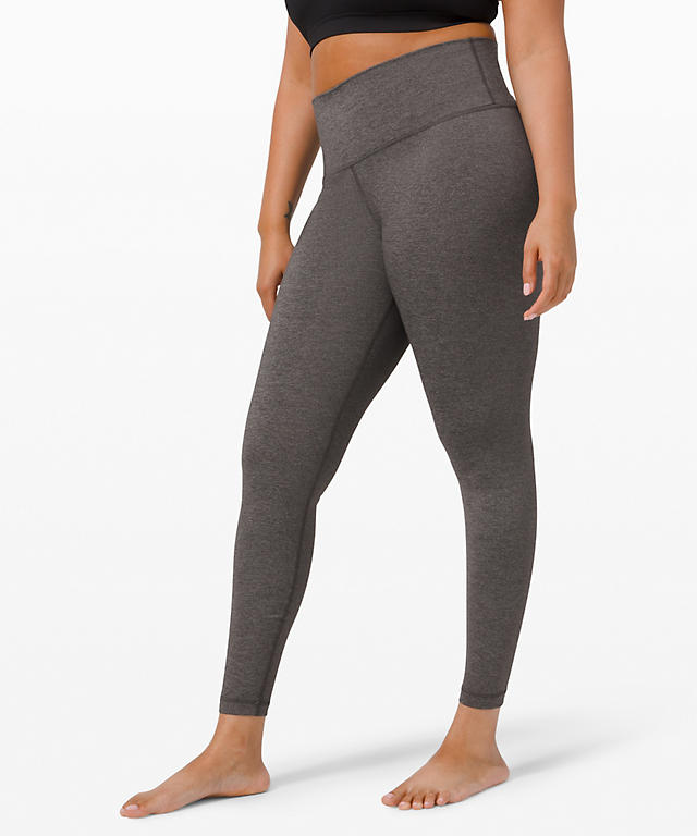 c7733a67d Heathered Black Wunder Under High Rise Tight 28